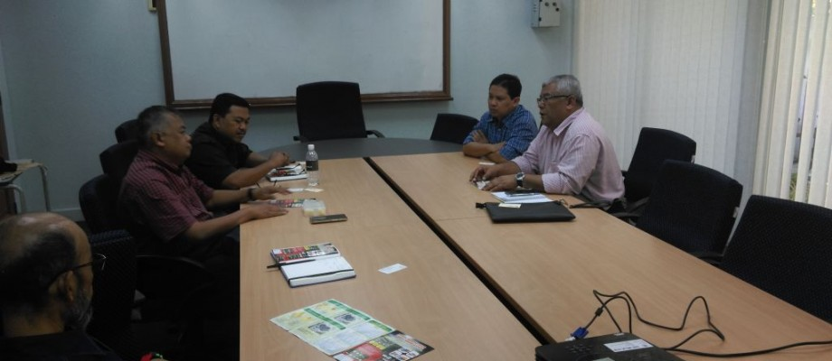MEETING WITH LOCAL INDUSTRIES AT ICC, UTM KL: 05/03/2015