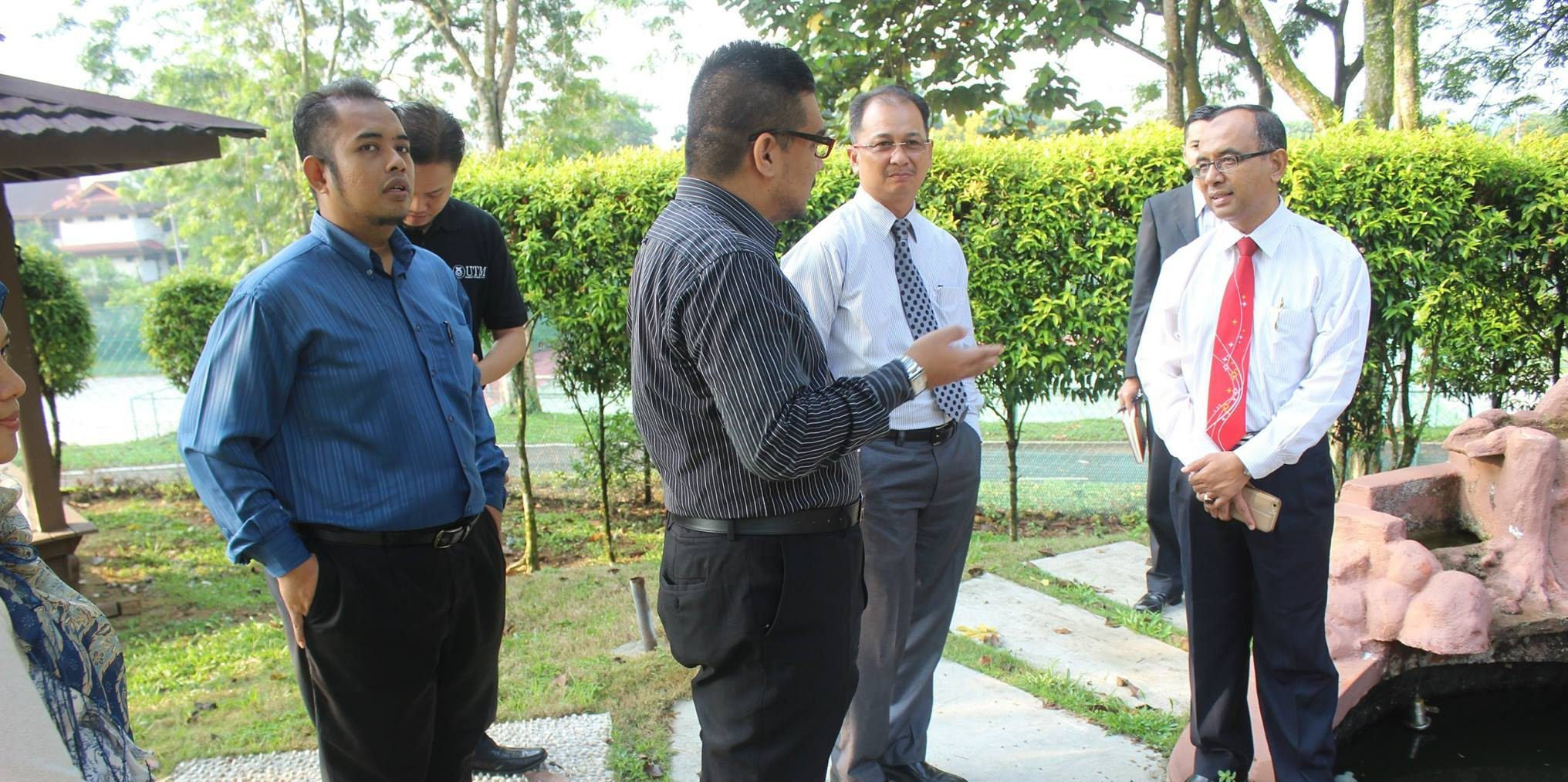Official Visit by UTM Vice Chancellor