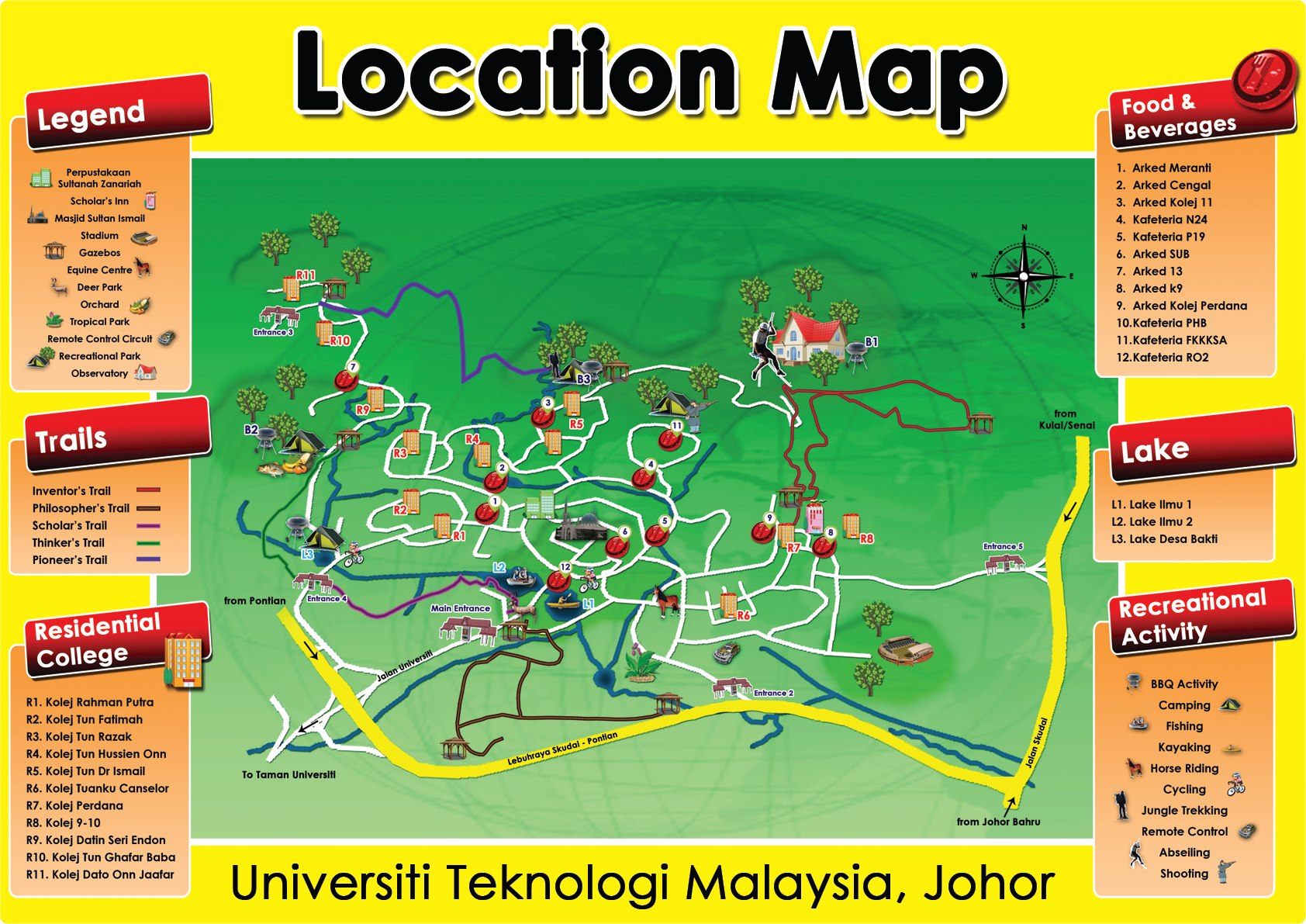 Campus map eco tourism campus map click here gumiabroncs Image collections