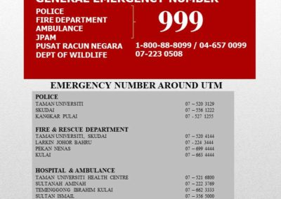 EMERGENCY NUMBER (english) NEW