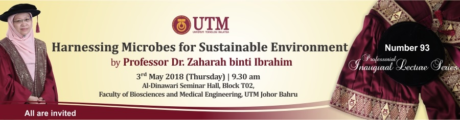 The 93th Professorial Inaugural Lecture Series by Professor Dr.Zaharah Binti Ibrahim