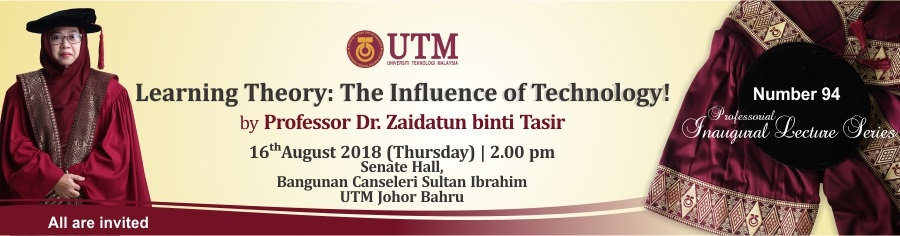 The 94th Professorial Inaugural Lecture Series by Profesor Dr. Zaidatun Binti Tasir