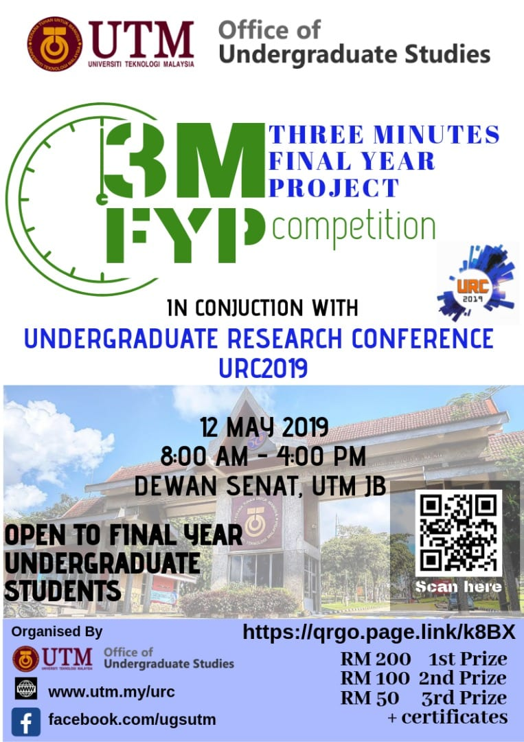 3M FYP 2019   Undergraduate Research Conference