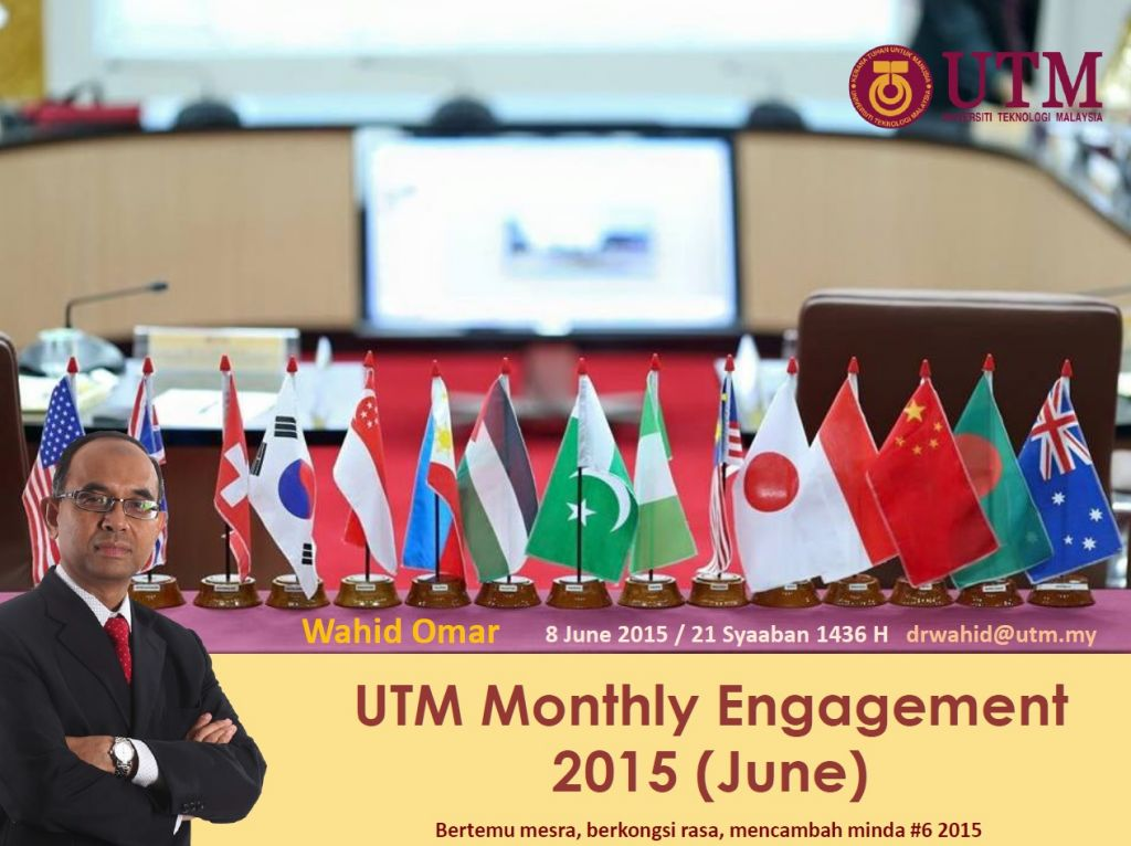 UTM MONTHLY ENGAGEMENT (JUNE) 2015