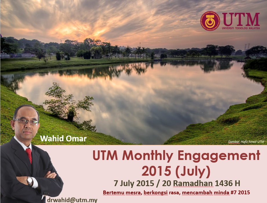 UTM MONTHLY ENGAGEMENT (JULY) 2015