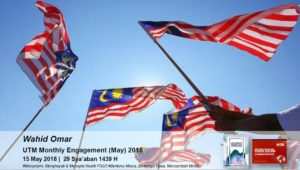 UTM MONTHLY ENGAGEMENT MAY 2018